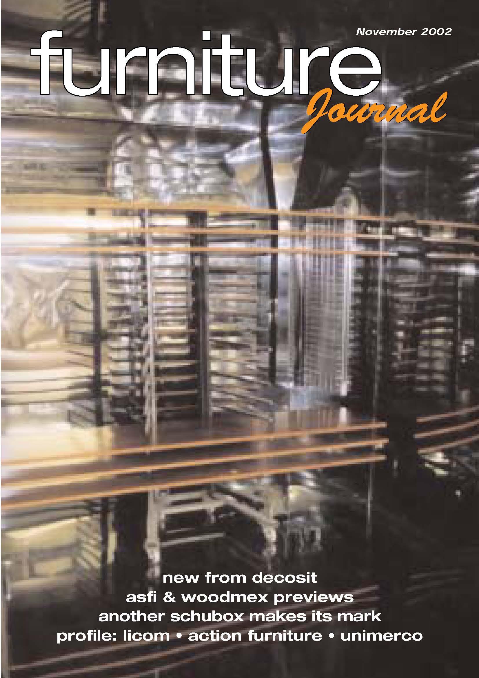 Furniture Journal Schuberts